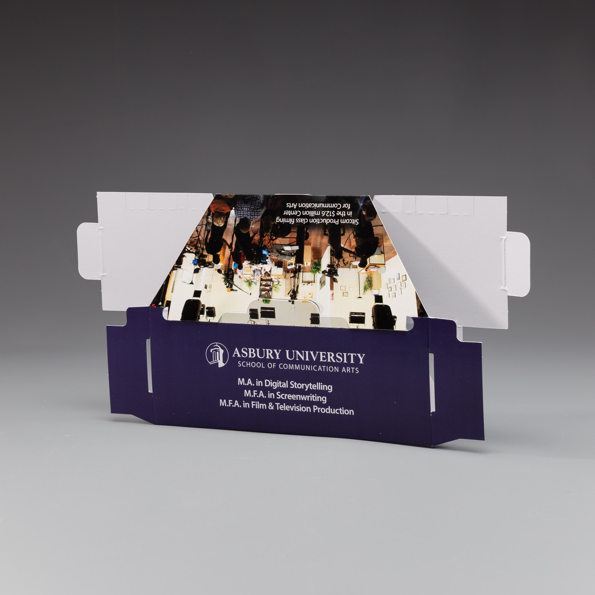 Asbury University Uses Sleek Peeks Virtual Reality Viewer to Capture the Attention of Prospective Grad Students