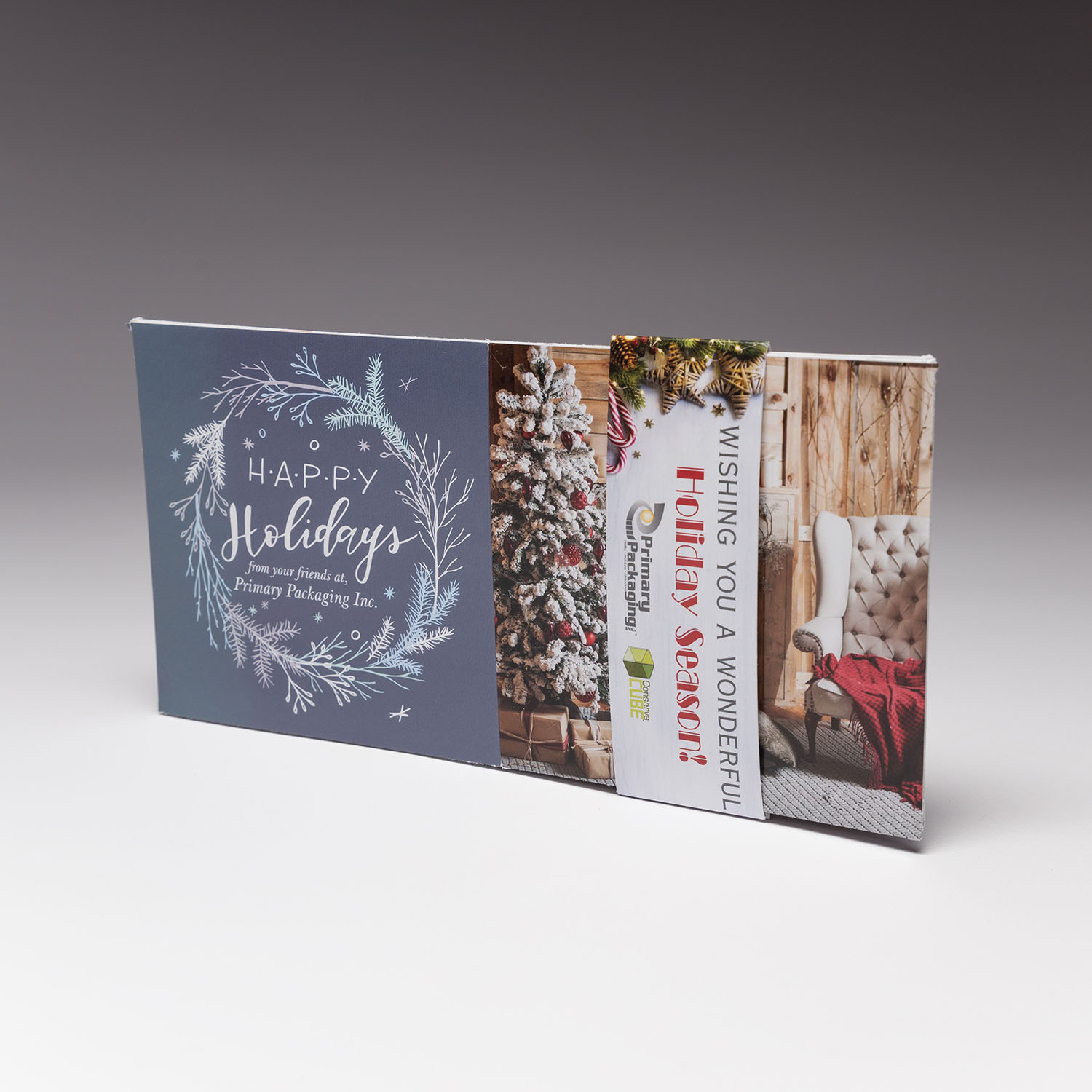 Send more than just a holiday greeting with us, Stand out from the crowd with our 4.25