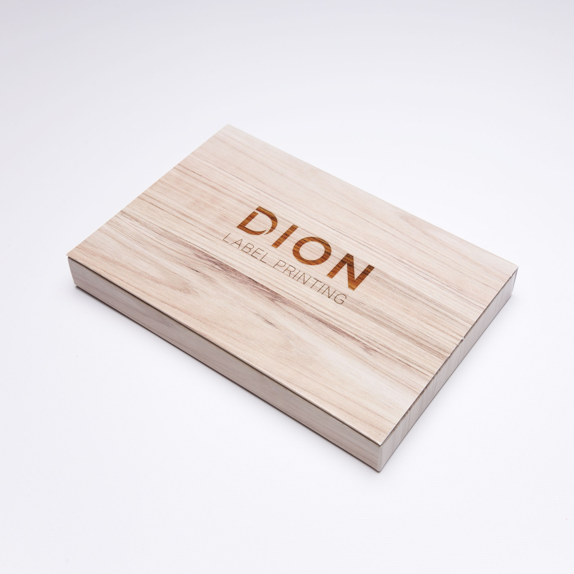DION Label Printing Impresses Potential Customers Using the Large Well Box