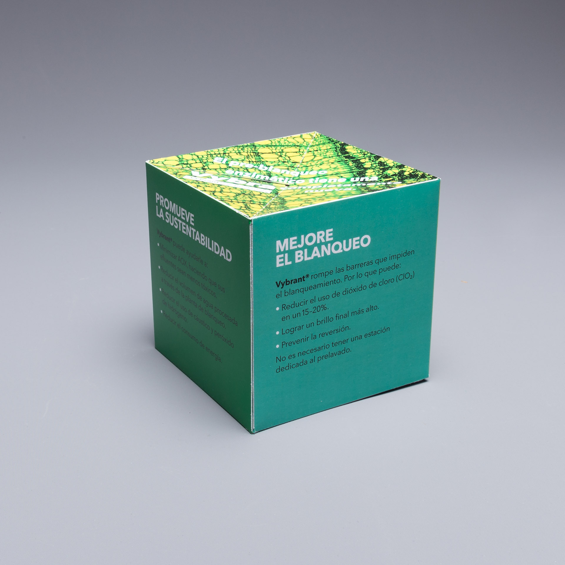 "Buckman International uses 4.25"" Pop Up Cube for Latest Promotional Offering"