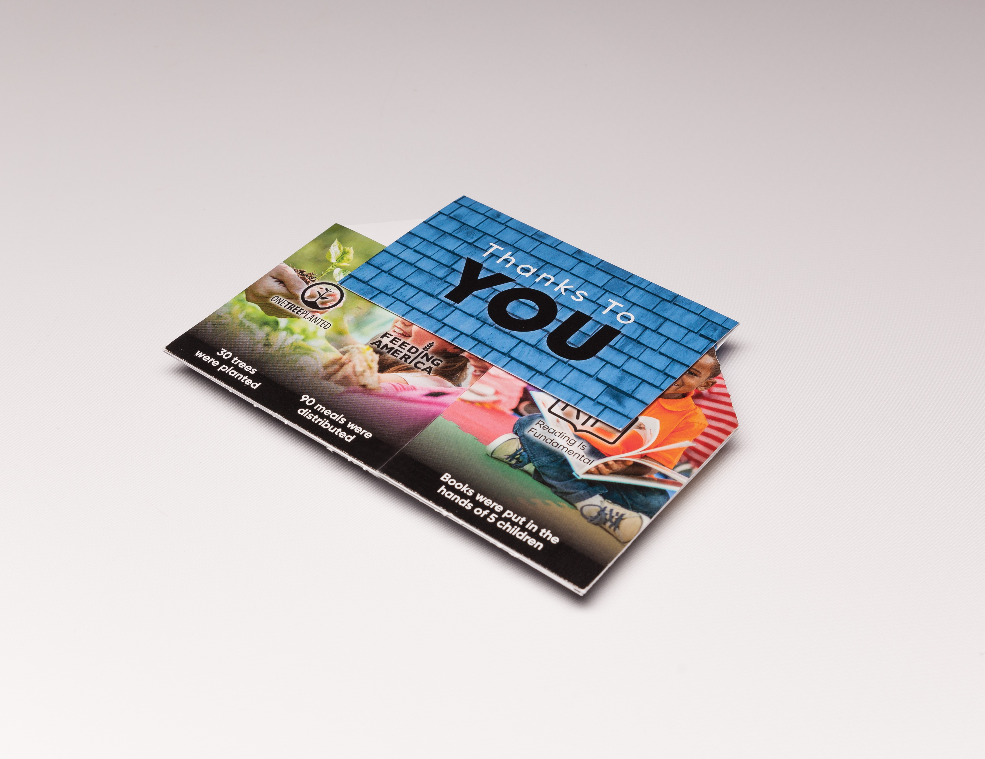 Make sure your clients feel right at home with our Pop Up House Direct Mailer, complete with a hidden message flap