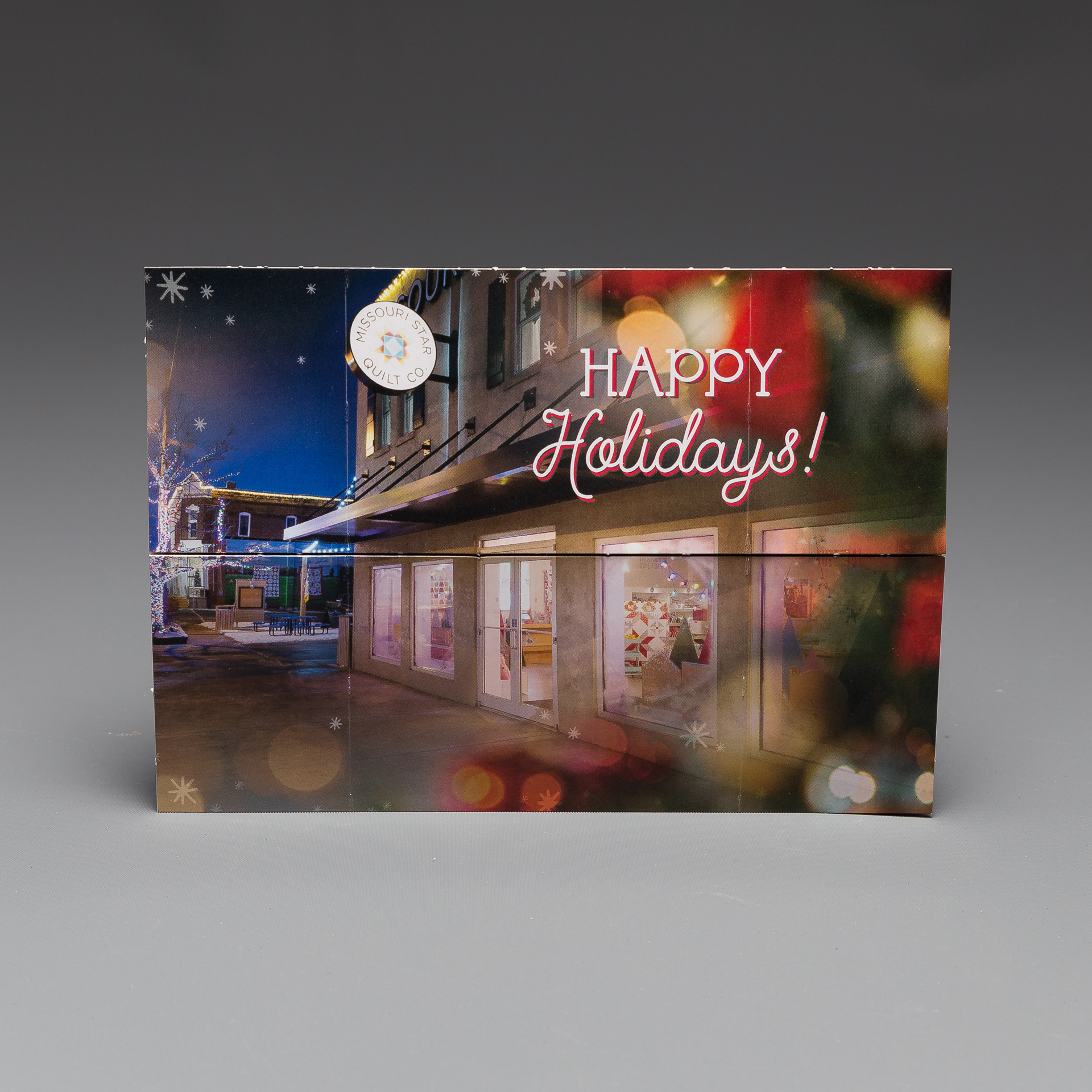 The Flapper®- an interactive direct mail piece that flips the creative holiday card model completely on its head