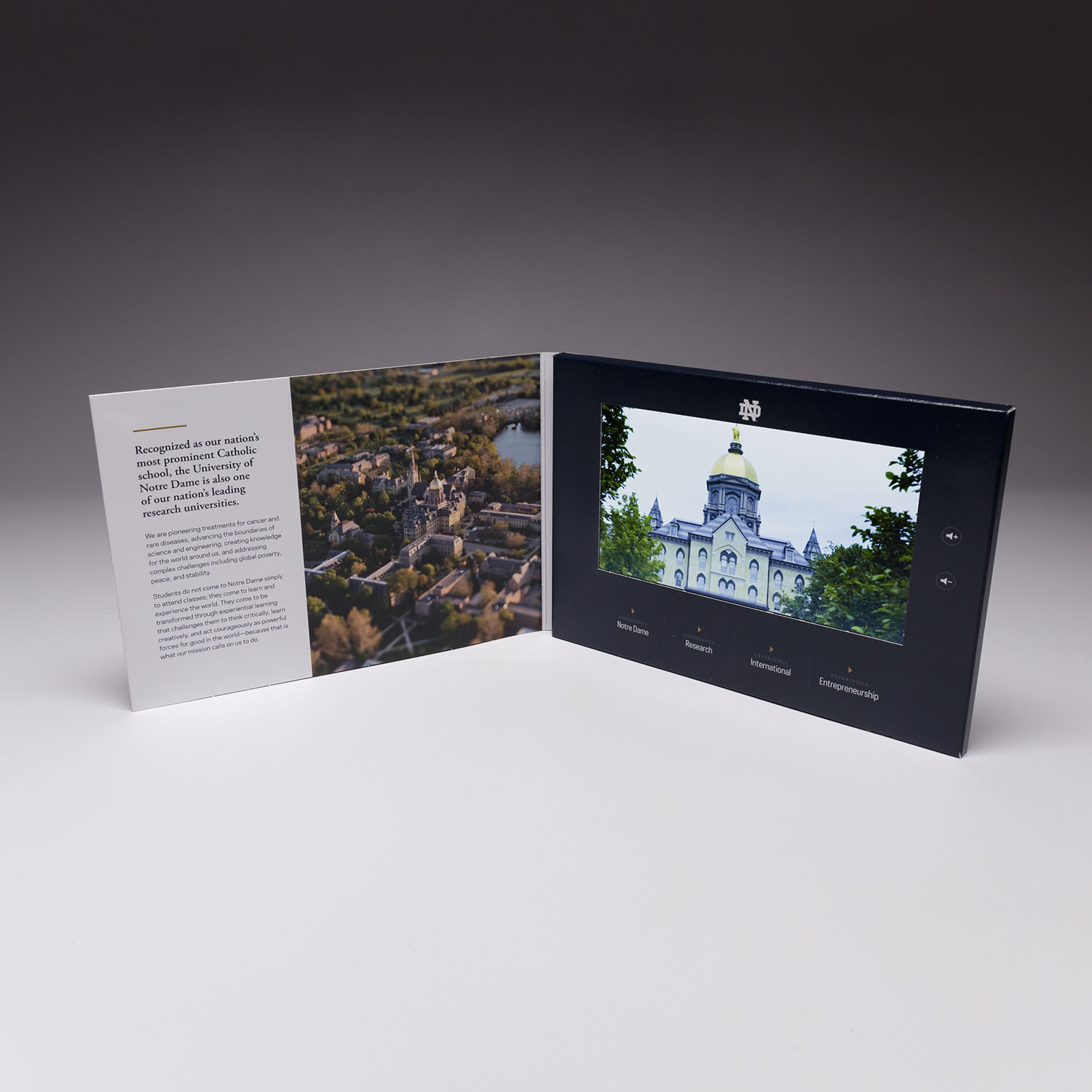 Capture the attention of your donors with video. Combining the visual elements with direct mail is sure to leave an impact