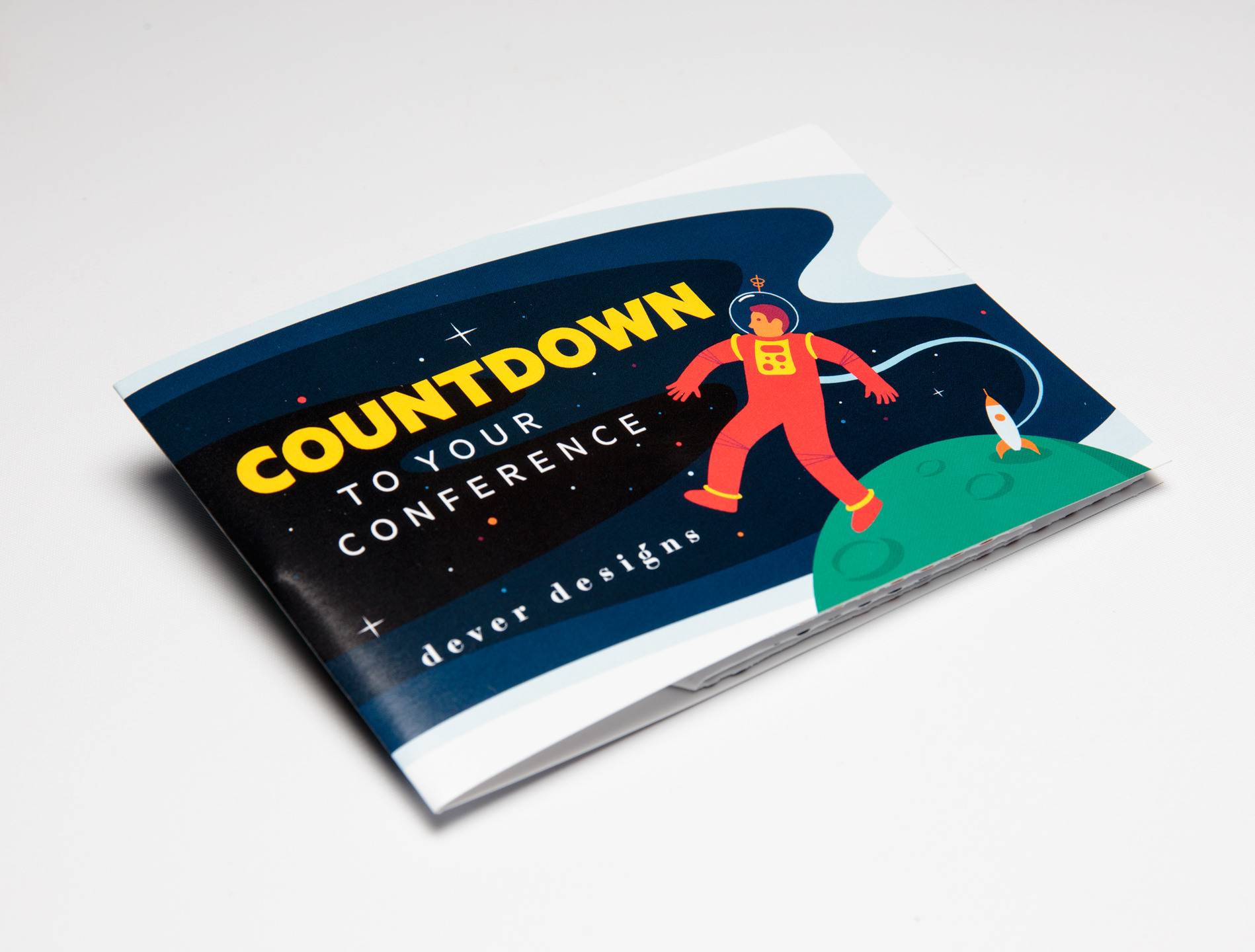 Dever Designs Counts Down to Conference Date Using Small Exploding Page