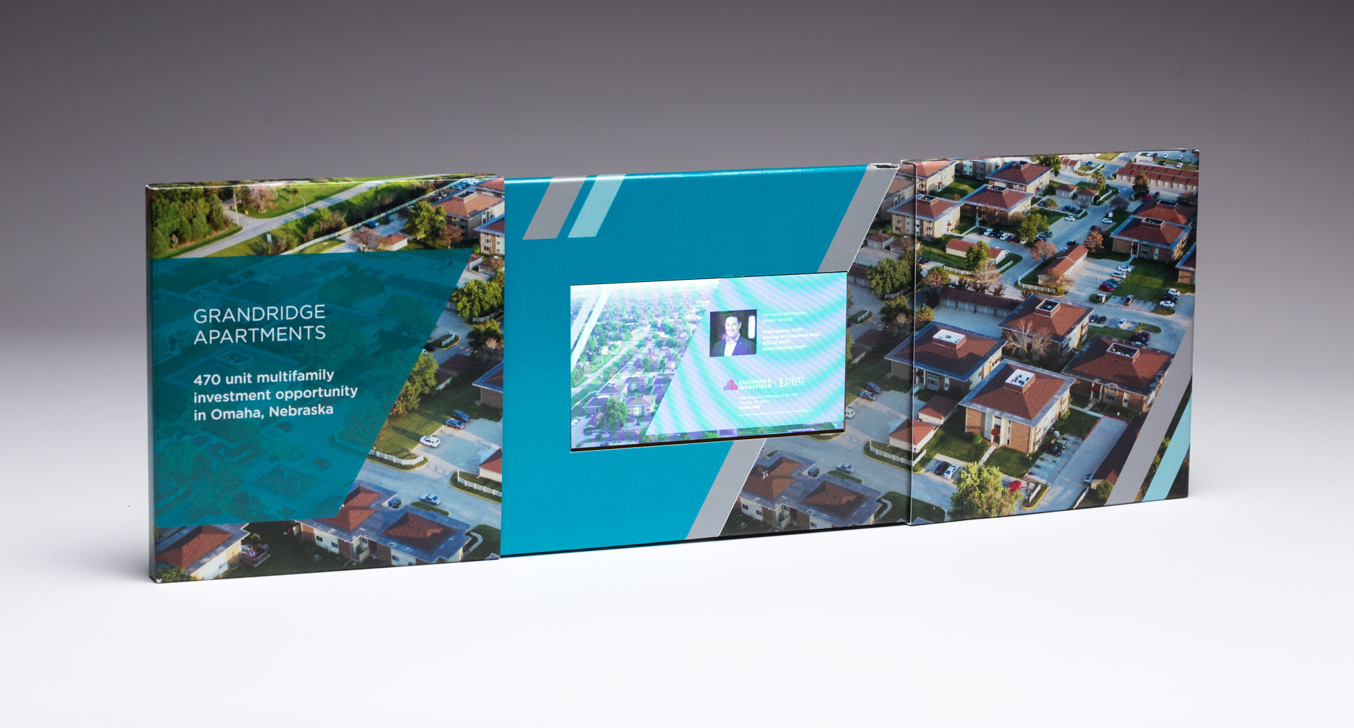 The Lund Company Gets Noticed with The Center Reveal Video Brochure