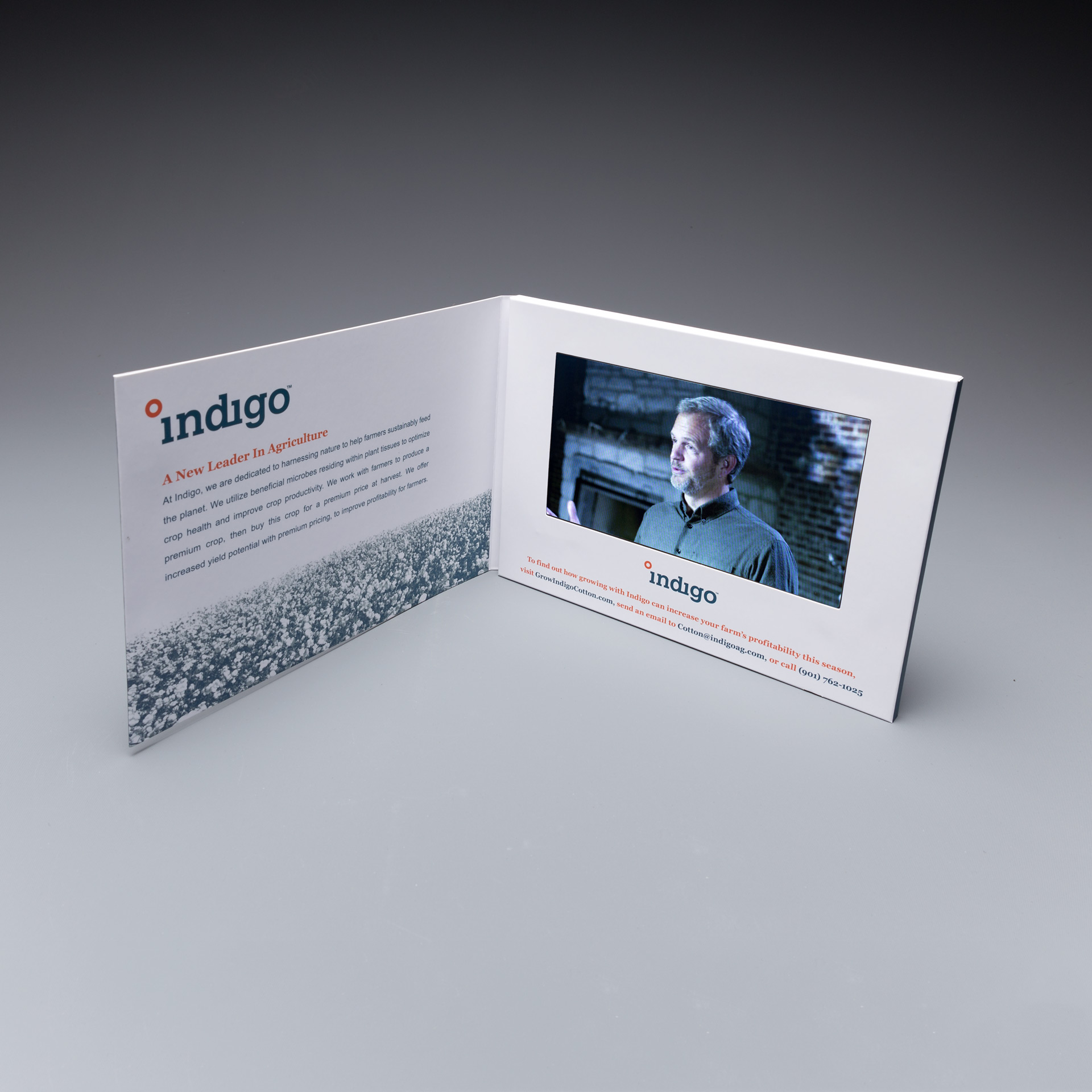 "CMO-ToGo Generates New Leads with 7"" Video Screen Brochure"