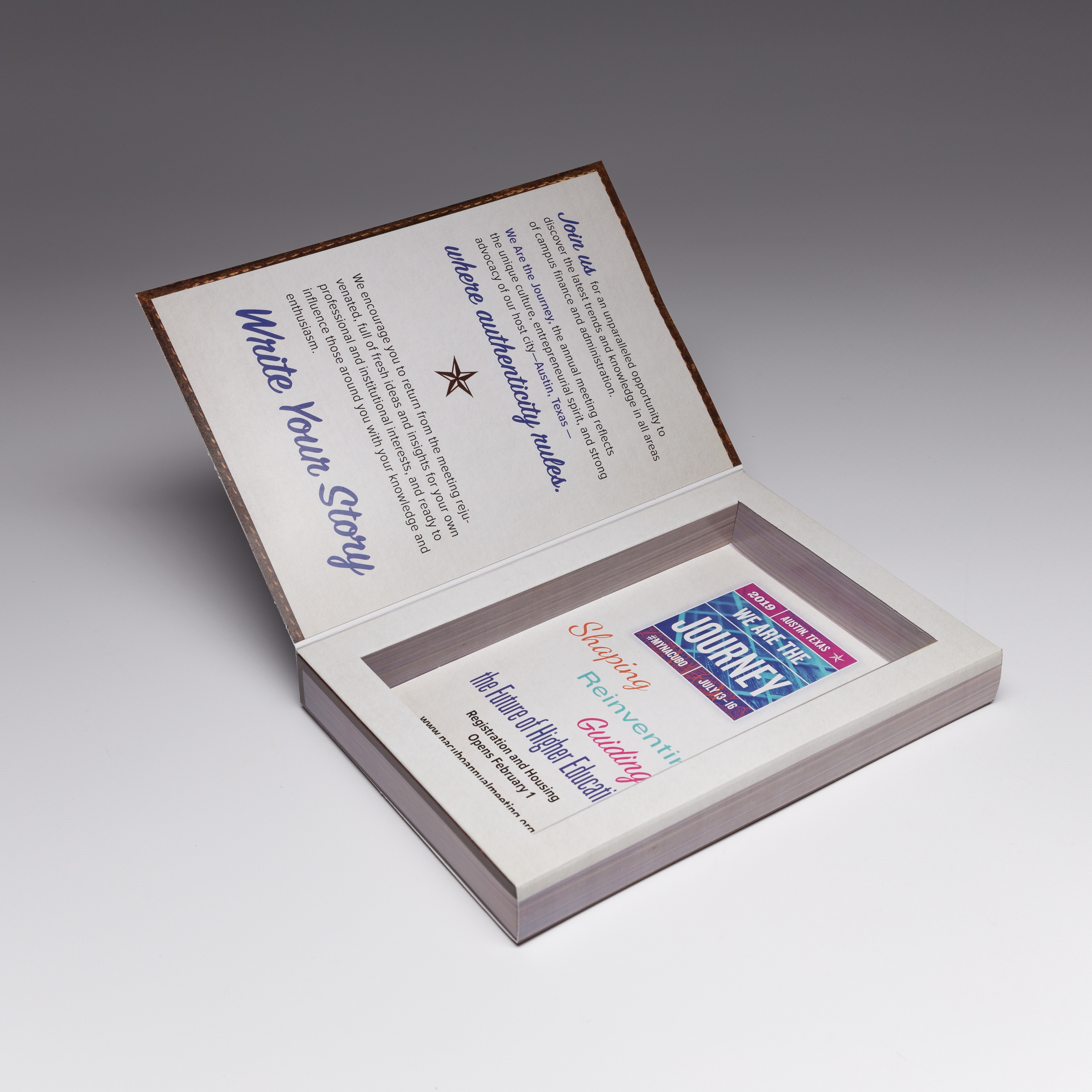 Promote your events in a premium way with our Large Well Box Direct Mailers, Perfect for any occasion