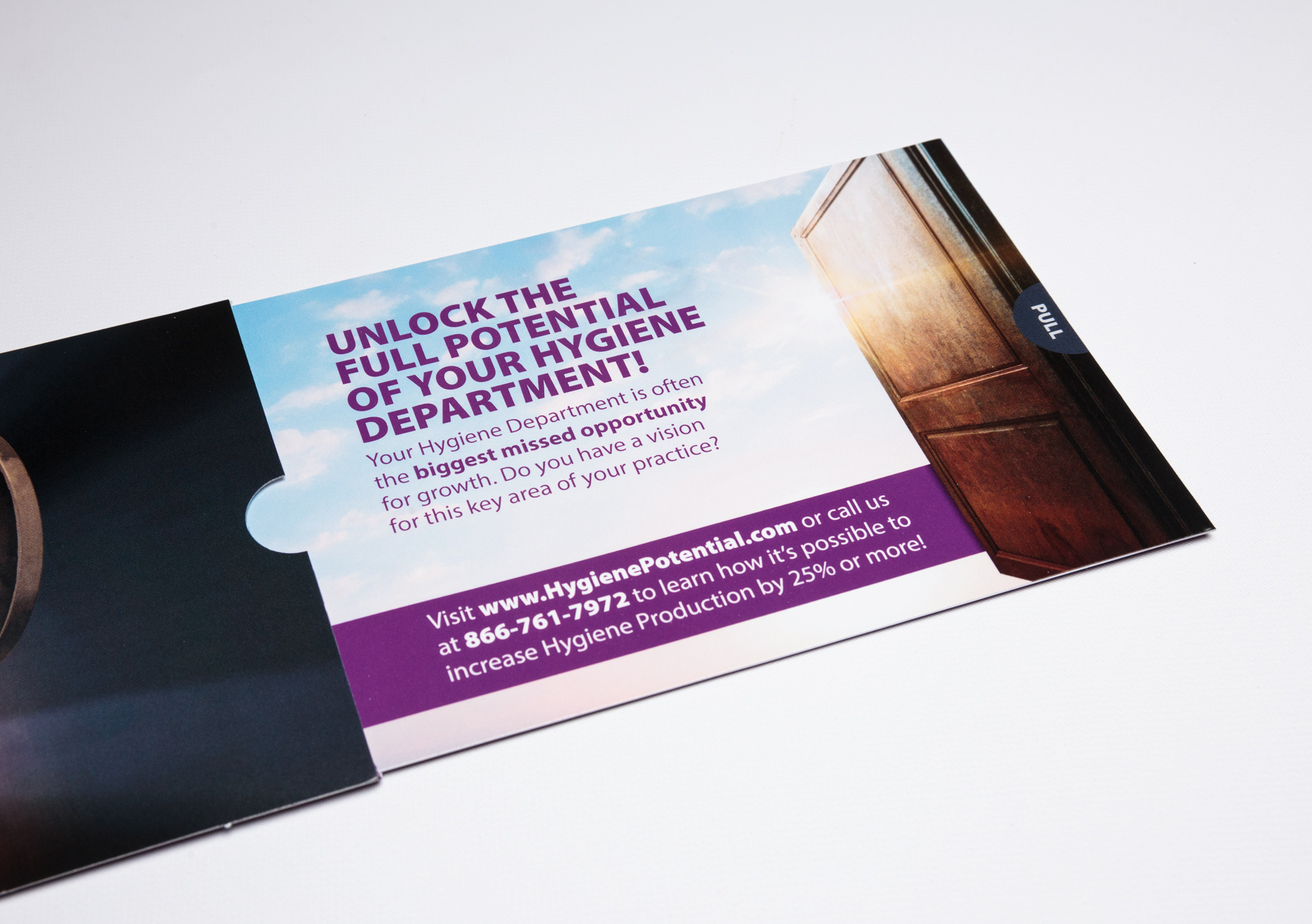 The Scheduling Institute Uses Telescoping Slider Mailer to Make an Impact