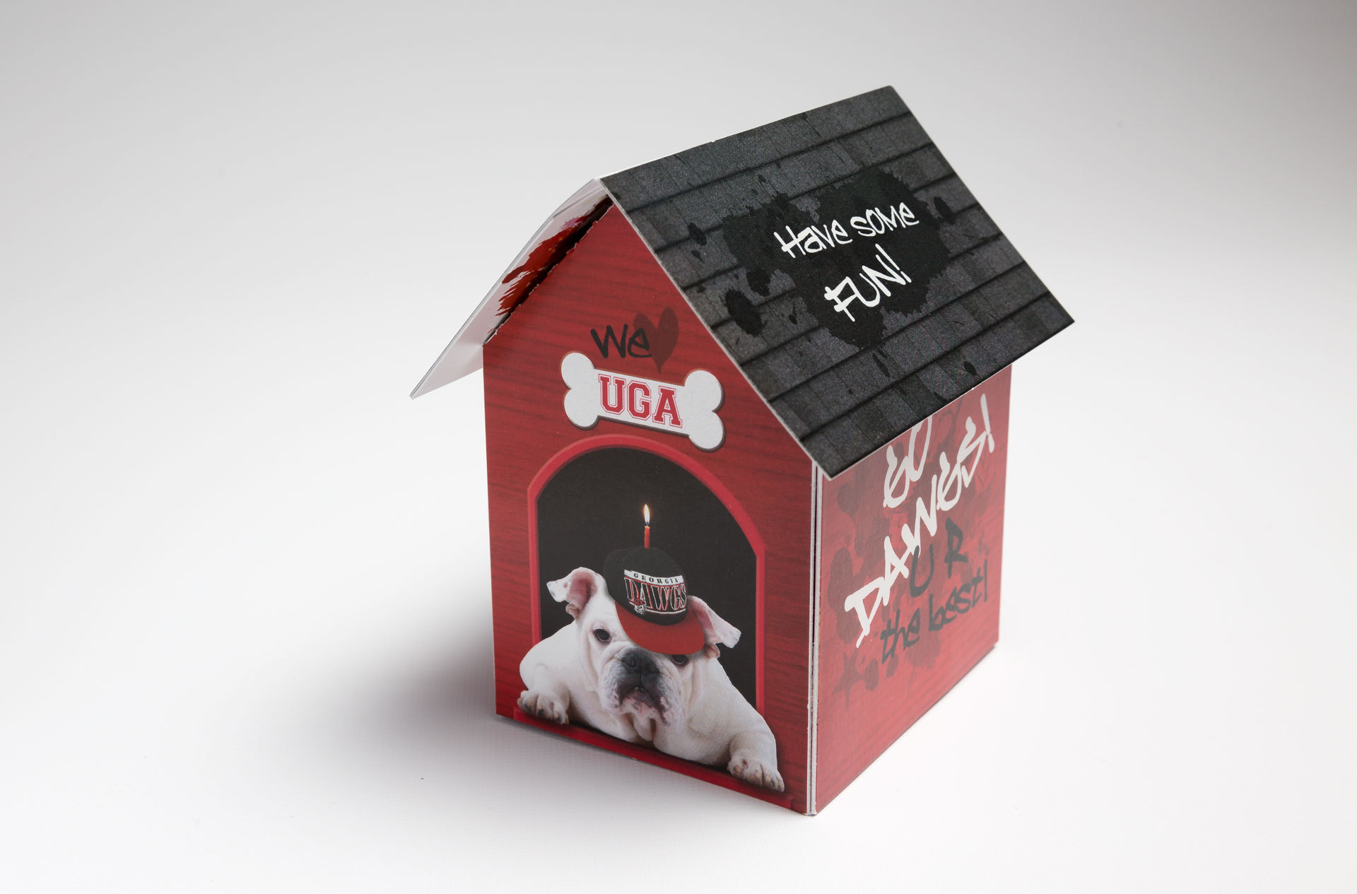 University of Georgia Surprises Top Donors with the Pop Up House with Lift Up Roof